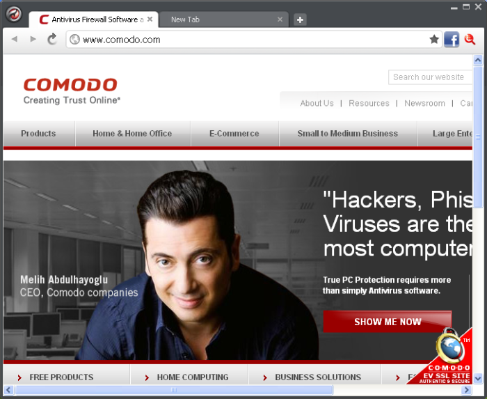 Comodo Dragon, Best Internet Security, Free Fast Web Browser