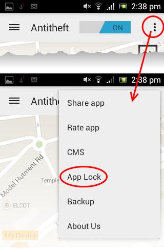 Comodo App Lock Identity Theft Protection Comodo Antitheft Comodo