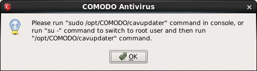 Comodo Antivirus for Linux Version 1 0, Mail Gateway Updates