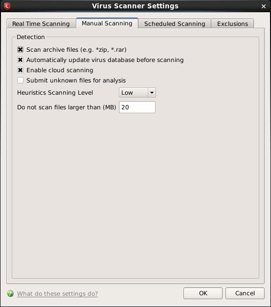 Free Antivirus Manual Scan, On Demand Scan, Virus Scanner