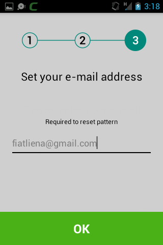 Set Up The Lock Pattern And Select Apps, Android Mobile