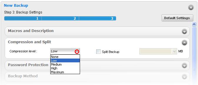 Compression and Split,Compress Data,Disk Space,Split Data