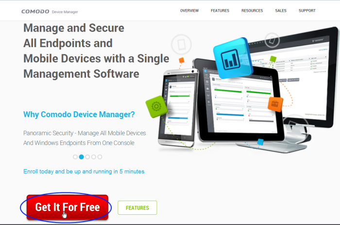 Signing-up For A Free-trial, Free Cloud Server Trial, CDM Cloud