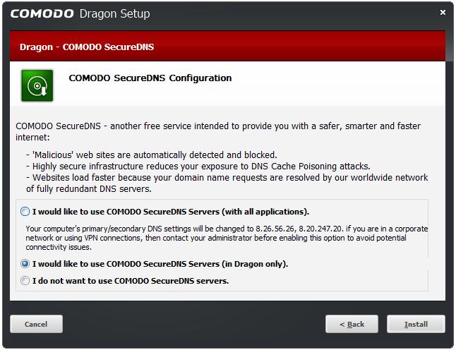 Comodo Dragon Web Browser - Download And Install   Web