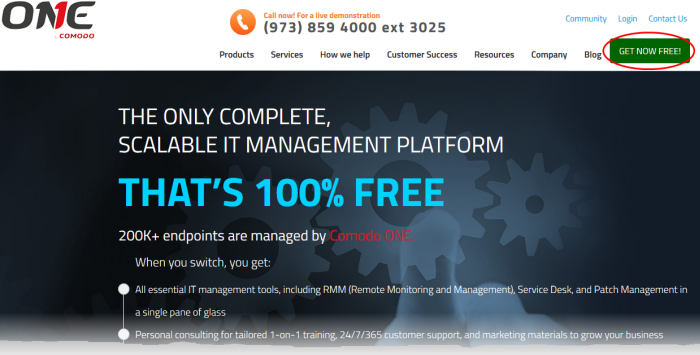 Quick Start Guide - Comodo IT And Security Manager, Virus