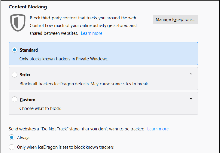 Block Websites From Tracking Your Browsing Activities
