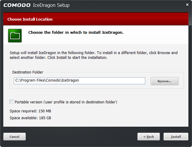 Comodo IceDragon - Download And Install | Web Browser & Internet