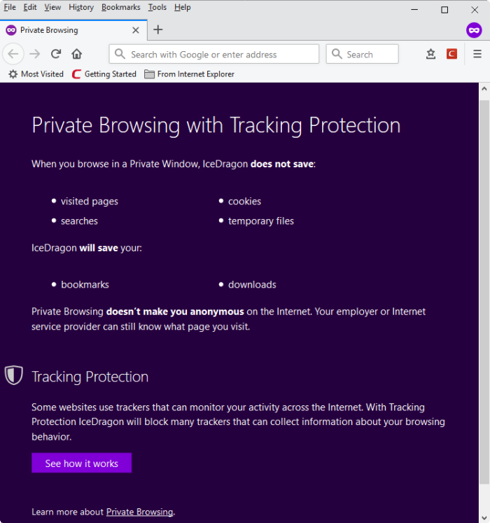 How to Activate InPrivate Browsing Mode in IE