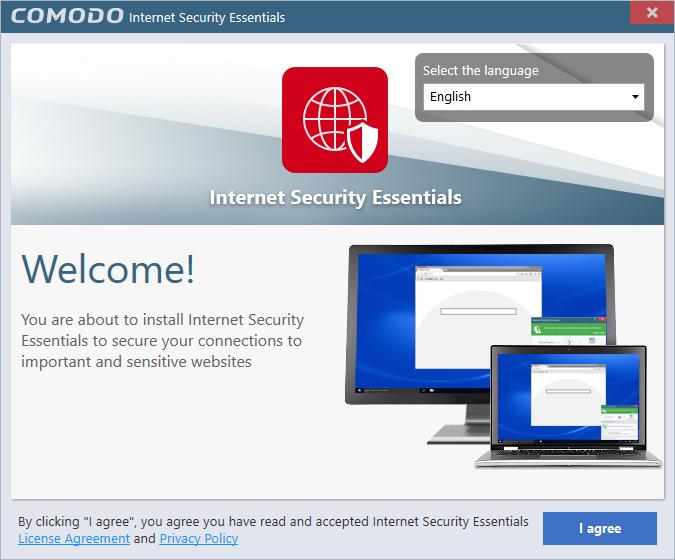 Install Comodo Internet Security Essentials Network Security Ssl
