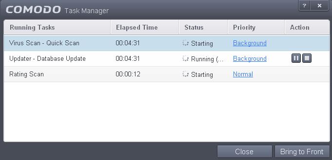 manage cis tasks  database management  task list software