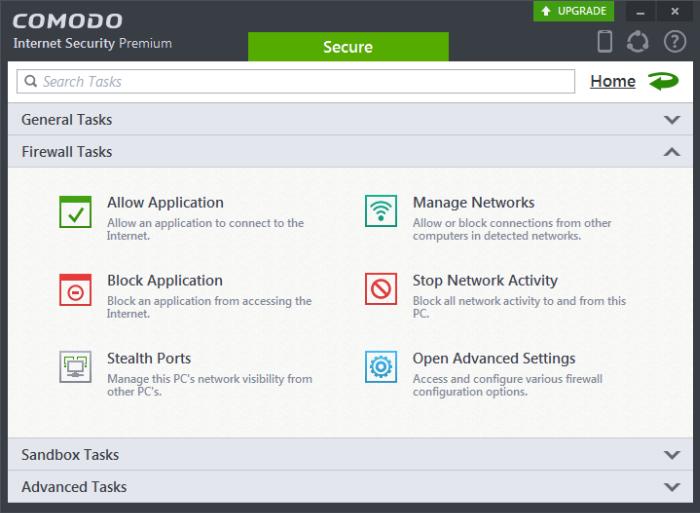 comodo firewall antivirus download