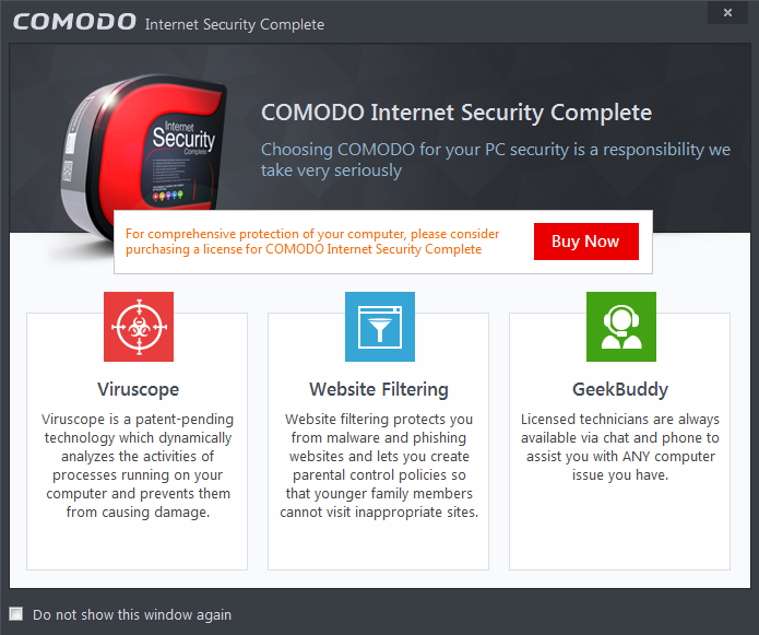comodo internet security complete 8 key