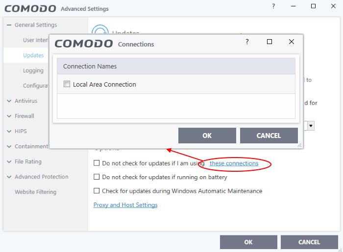 Comodo Internet Security Software Updates, Download Software