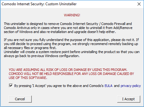 Comodo Uninstaller Tool Use, Internet Security, Comodo