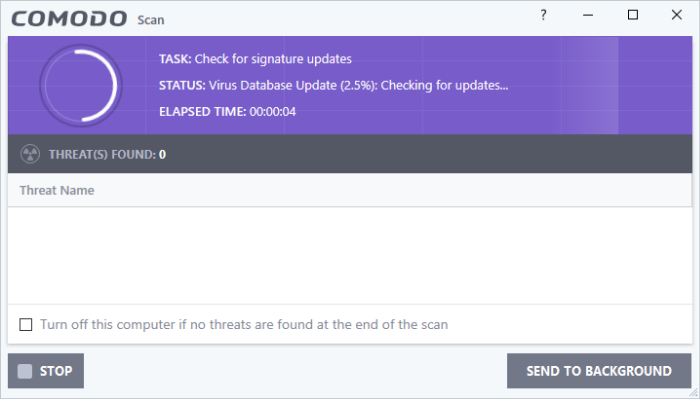 Run A Quick Scan, Scan My PC, Virus Scan, Virus Removal   Internet