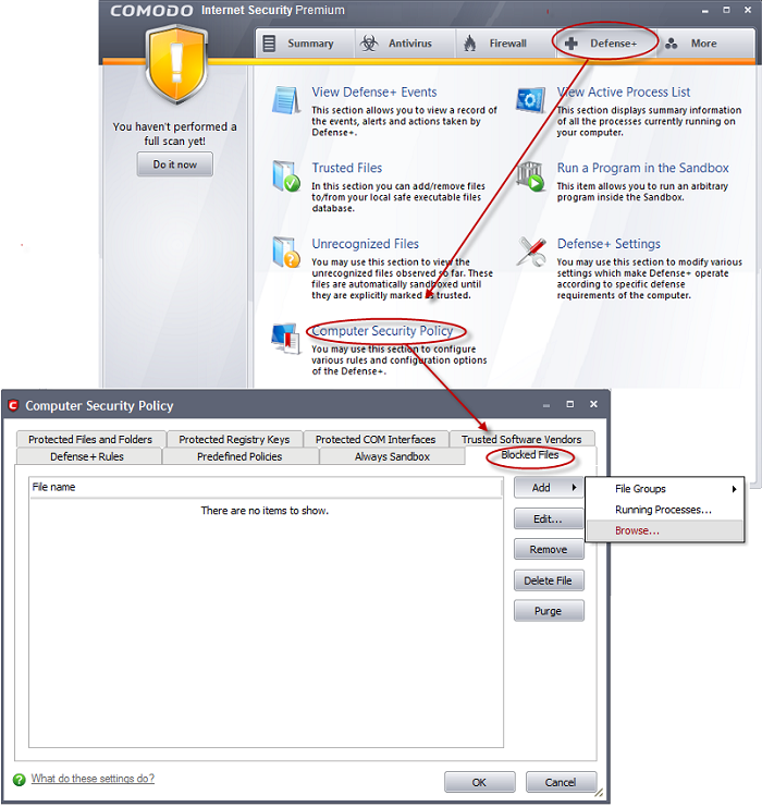 blocking any downloads of a specific file type free antivirus