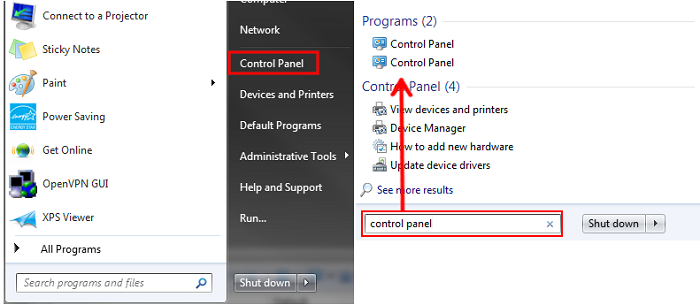 Windows Vista - Manually Enabling or Disabling Comodo Secure