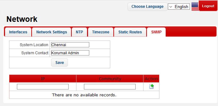 simple network management protocol snmp manager comodo korumail korumail messaging gateway appliance