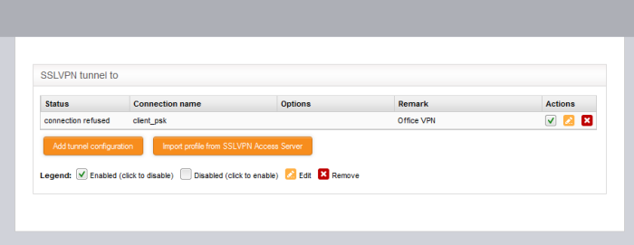 OpenVPN Client, Managed VPN, UTM Appliance, Unified Threat Manager