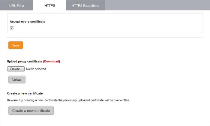 HTTPS Proxy, SSL Certificate, Intermediate Certificate SSL