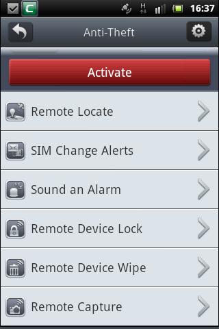Anti Theft, Comodo Mobile Security Version 2 4, Free Virus
