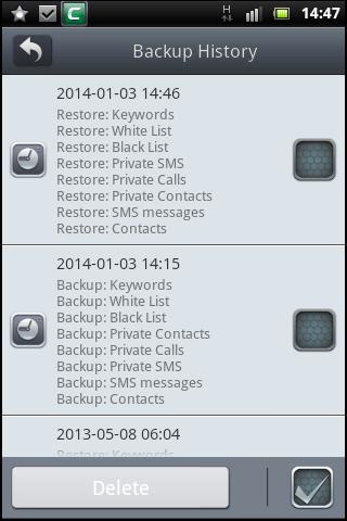 Backup, Data Backup, Anti Theft Device, Comodo Mobile