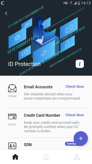 ID Protection, Data Protection, Antivirus Android App