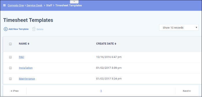 time sheet templates staff management software service desk