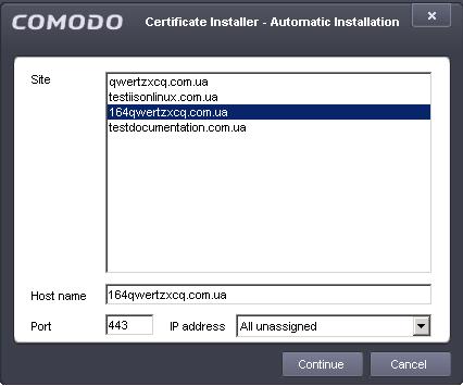 Tutorial, Certificate Signing Request, Install Comodo SSL