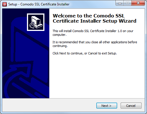 Download, Install and Run the Utility, SSL Certificate, Comodo SSL ...