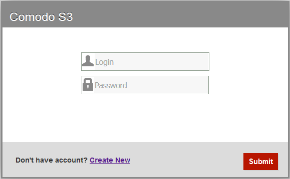Login Into The Console, SSL Certificate, Comodo Server Security