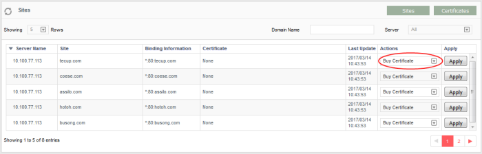 Buy A Certificate, SSL Certificate, Comodo SSL Certificate Installer ...