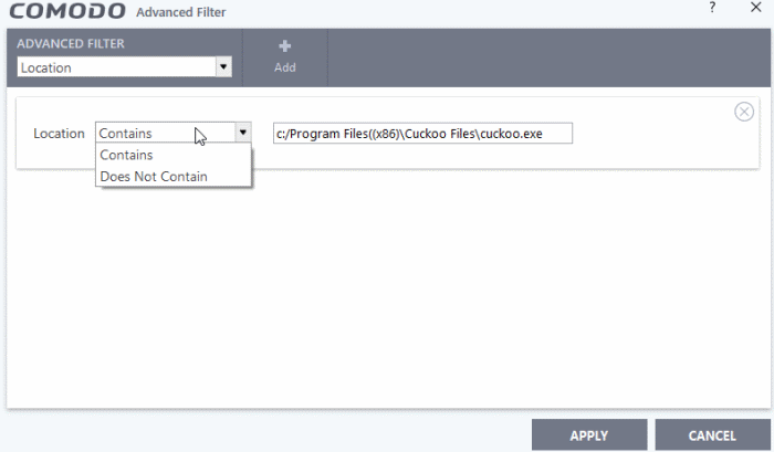 Filter Autorun Events Logs, Virus Protection Software