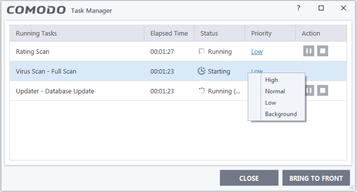 manage ccs tasks  database management  task list software
