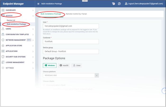 EM - Bulk Enrollment via Active Directory, Endpoint Manager
