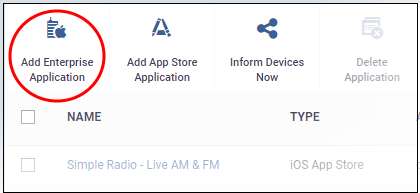 Add iOS Apps And Install Them On Devices, Managed Device