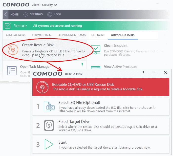 Download Comodo Rescue Disk, Virus Scan, Data Rescue ...