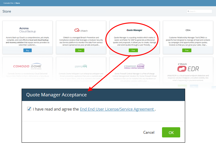 Login To Quote Manger, Quote Management System | ITarian